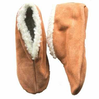 Beige Spaanse pantoffels Bernardino