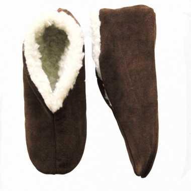 Bruine Spaanse pantoffels Bernardino